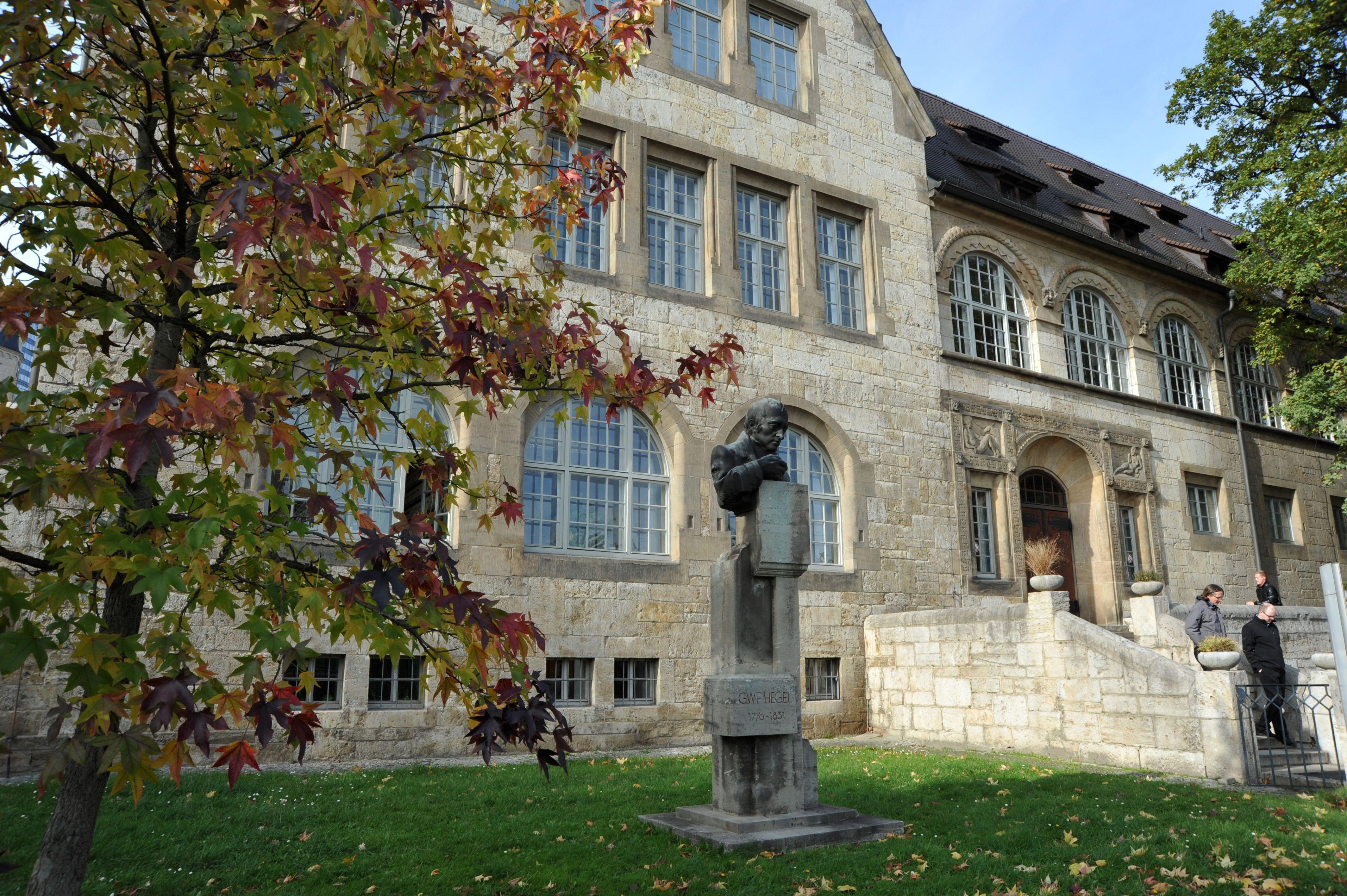 Gebäude Friedrich-Schiller-Universität