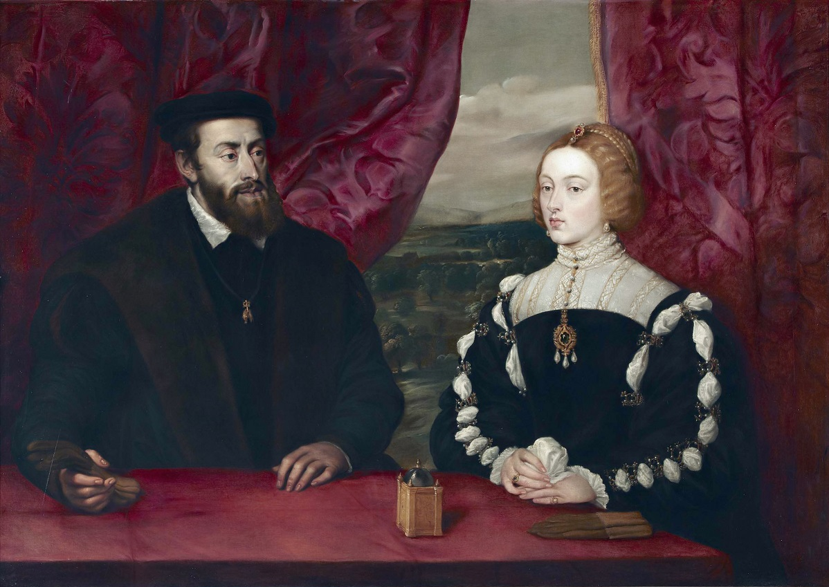 Charles V and Empress Isabella of Portugal, by Peter Paul Rubens